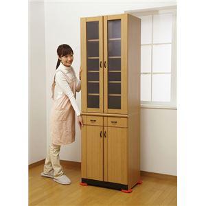 家具・家電の移動キャリー(キャスター付き台車/便利グッズ) 対象物100kgまで可 - 拡大画像