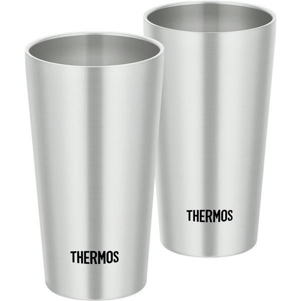【THERMOS サーモス】 真空断熱タンブラー/カップ 【2個セット】 300ml ステンレス製