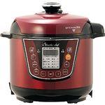 【ワンダーシェフ】 家庭用マイコン電気圧力鍋/調理器具 【3L】 フッ素樹脂加工 SGマーク付き