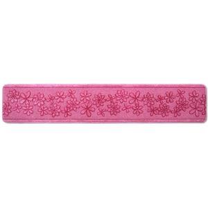 キッチンマット/フロアマット 【45×240cm ピンク】 裏面すべり止め加工 『Nベルラ』