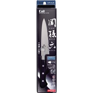 貝印 関孫六 ペティナイフ 120mm AB5436(包丁) - 拡大画像