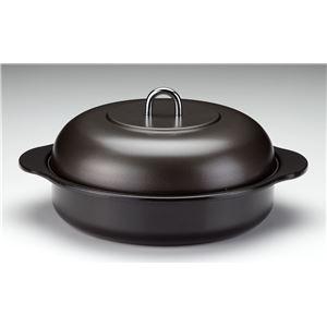 高木金属工業 ホーロー石焼きいも器 ブラック 24cm HA-IY24 (焼き芋器)