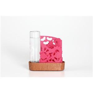 セキスイ 自然気化式ECO加湿器 うるおい ちいさな庭 ピンク・チューリップ