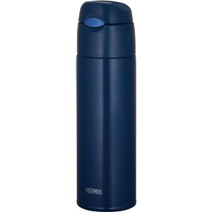 サーモス 真空断熱ストローボトル ネイビー(NVY) 550ml FHL-551