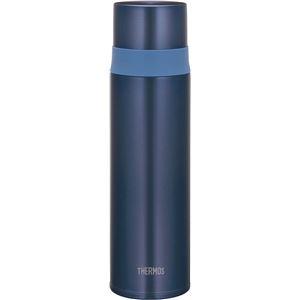 【サーモス】 ステンレスボトル/水筒 【ミスティーブルー 500ml】 軽量 ワンプッシュボタン 魔法瓶構造 〔スポーツ アウトドア〕