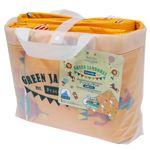 レジャーシート/クッションマット 【3畳】 6〜7人用 180×240cm 防水効果 収納バッグ付 『PICNIC&HOME グリーンジャンボリー』