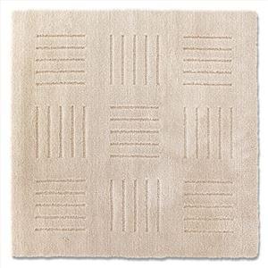 ピタプラス ブリック キッチンマット ベージュ 60×60cm (インテリアマット)
