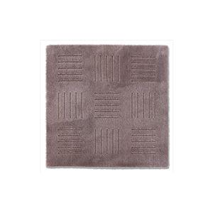 ピタプラス ブリック キッチンマット ブラウン 60×60cm (インテリアマット)