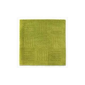 ピタプラス ブリック キッチンマット グリーン 60×60cm (インテリアマット)