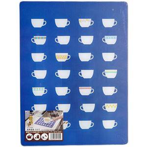 伸晃 強化ガラス製 キッチントッププレート 4030 カップ ( 鍋敷き ) - 拡大画像