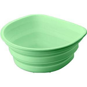アスベル ポゼ シリコン 洗い桶 グリーン 4942