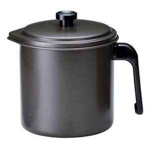油こし器 プレシャス オイルポット 2重口 1.3L (キッチン 油 ポット)