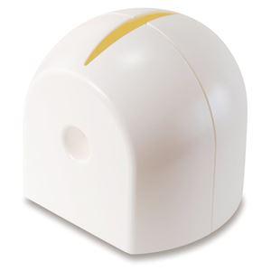 (まとめ) ロールペーパーホルダー/トイレットペーパーホルダー 【ホワイト】 シンプル トイレ収納 【×36個セット】 - 拡大画像