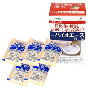 (まとめ)トイレバイオ 消臭 汚れ取りバイオエース 液状 (ト イレ用) 【×40個セット】