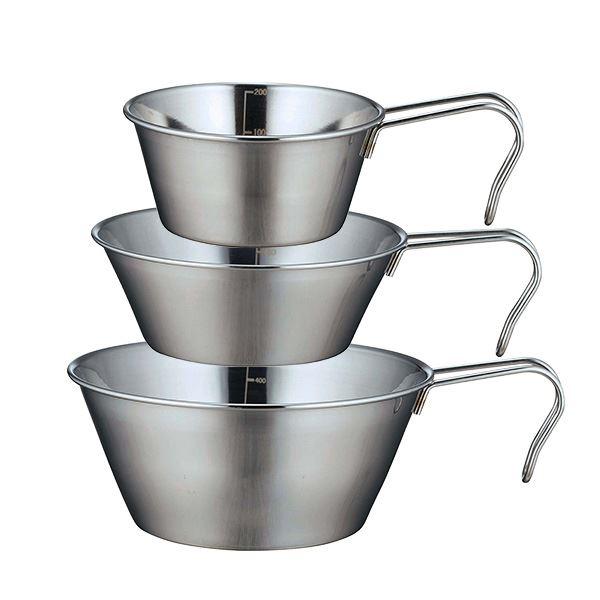 (まとめ)カクセーSOLAシェラカップ 3個セット PP-09アウトドア調理用品 【×36個セット】