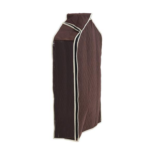 (まとめ)洋服カバー パッと見える 炭入り消臭 衣類カバー ショート 【×26個セット】