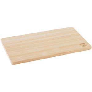ひのき まな板/キッチン用品 【42×24cm】 薄型 M 木製 調理器具 日本製