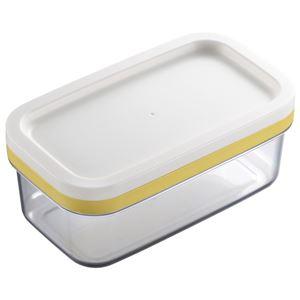 カットできちゃうバターケース (バター容器 バター入れ カッター付き) - 拡大画像