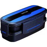 アスベル ランタス DB ランチボックス バッグ付 820ml TLB-820 ブルー (弁当箱)