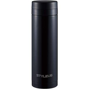ステンレスマグ 500ml スタイラス マグカップ ストレート ブラック - 拡大画像