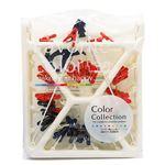 ワイヤー角ハンガー/ピンチハンガー 【42ピンチ付き】 キャッチフック式 『ColorCollection カラーコレクション』