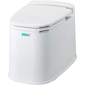 コンドル リフォームトイレ P型和風式 アイボリー - 拡大画像