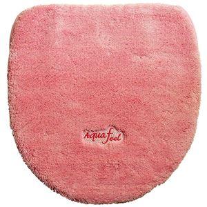 トイレフタカバー 洗浄・暖房便器用 アクアフィール ピンク - 拡大画像