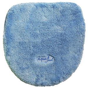トイレフタカバー 洗浄・暖房便器用 アクアフィール ブルー - 拡大画像