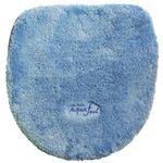 トイレフタカバー 洗浄・暖房便器用 アクアフィール ブルー