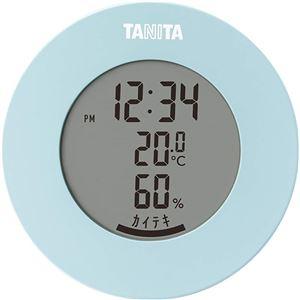 タニタ デジタル 温湿度計 ライトブルー TT-585 - 拡大画像