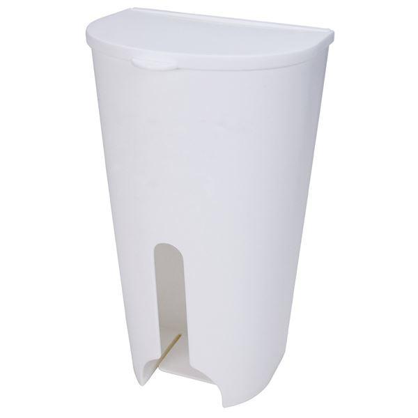 Mag-On ポリ袋ストッカー 吸盤付き ホワイト (レジ袋ストッカー)