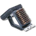 (まとめ)レスト鉄板焼器・アミ用 ブラシトライアングル M-7634 【×3セット】