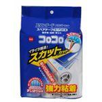 (まとめ)コロコロ スペアテープ 強力粘着 (カーペット用) スカットカット スタンダード 3巻入 【×3セット】