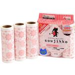 (まとめ)soujikko(そうじっこ) 粘着クリーナー カーペット用 超ストロング 3巻入 KU-MT0360 【×3セット】
