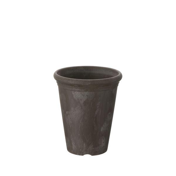 (まとめ)ティノ 鉢カバー 3号鉢用 ダークブラウン(DB) 【×3セット】