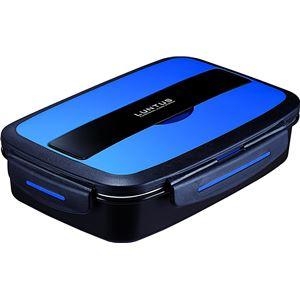 アスベル ランタス DB ランチボックス バッグ付 880ml TLB-880 ブルー (弁当箱) - 拡大画像