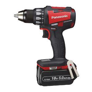 Panasonic(パナソニック) EZ74A2LJ2G-R 18V5.0Ah充電ドリルドライバー(赤) - 拡大画像