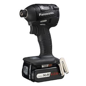 Panasonic(パナソニック) EZ75A7LS2F-B 14.4V充電インパクトドライバー(黒) - 拡大画像