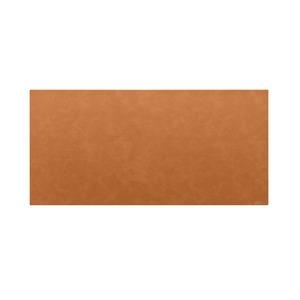 高級PVCレザー デスクマット 【04:ライトブラウン】 620×300mm カット可 日本製 〔DIY素材 背景 クラフト用品〕