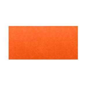 高級PVCレザー デスクマット 【06:オレンジ】 620×300mm カット可 日本製 〔DIY素材 背景 クラフト用品〕