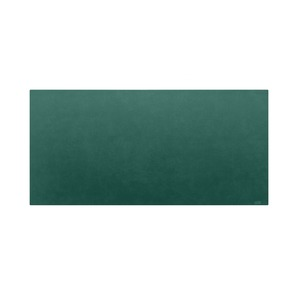 高級PVCレザー デスクマット 【08:グリーン】 620×300mm カット可 日本製 〔DIY素材 背景 クラフト用品〕