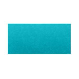 高級PVCレザー デスクマット 【10:ターコイズブルー】 620×300mm カット可 日本製 〔DIY素材 背景 クラフト用品〕