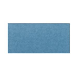 高級PVCレザー デスクマット 【11:シーガルブルー】 620×300mm カット可 日本製 〔DIY素材 背景 クラフト用品〕