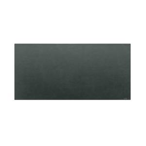 高級PVCレザー デスクマット 【12:シーガルブラック】 620×300mm カット可 日本製 〔DIY素材 背景 クラフト用品〕
