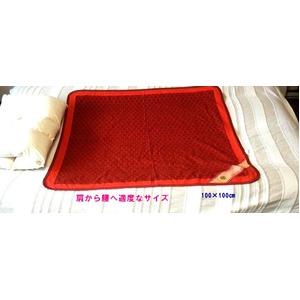 マイナスイオン 快眠ぐっすりシート 100×100cm 日本製 - 拡大画像