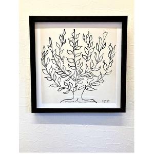 マチス PLATANE アートポスター 木製豪華額装 アンリマチス作 Matisse