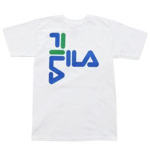 FILA ANTHONY TEE Tシャツ 100 white サイズ:M - 拡大画像