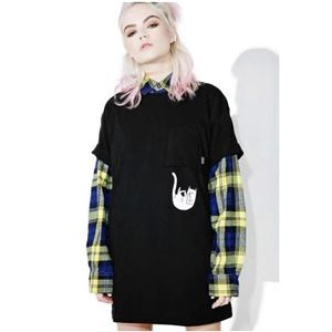 RIP N DIP Falling For NermalTee Shirt Tシャツ Black サイズ:M - 拡大画像