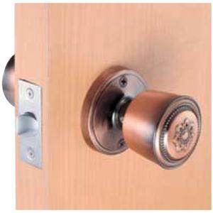 室内用ドアノブ 【鍵なしタイプ】 箱入仕様 空錠 『カラー』 川口技研 - 拡大画像