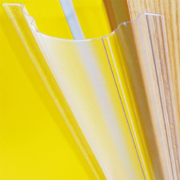 フィンガーアラート 【外側1200×65mm 内側1200×35mm】 強粘着テサテープ使用 403fa L=1200mm 『ウェステックスジャパン』